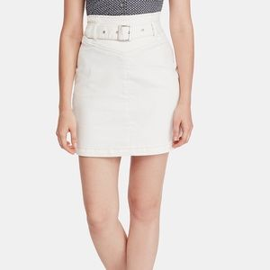 Free People Belted Skirt